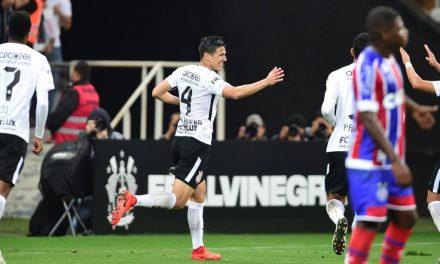Bahia perde para o Corinthians e segue em queda