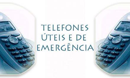TELEFONES ÚTEIS