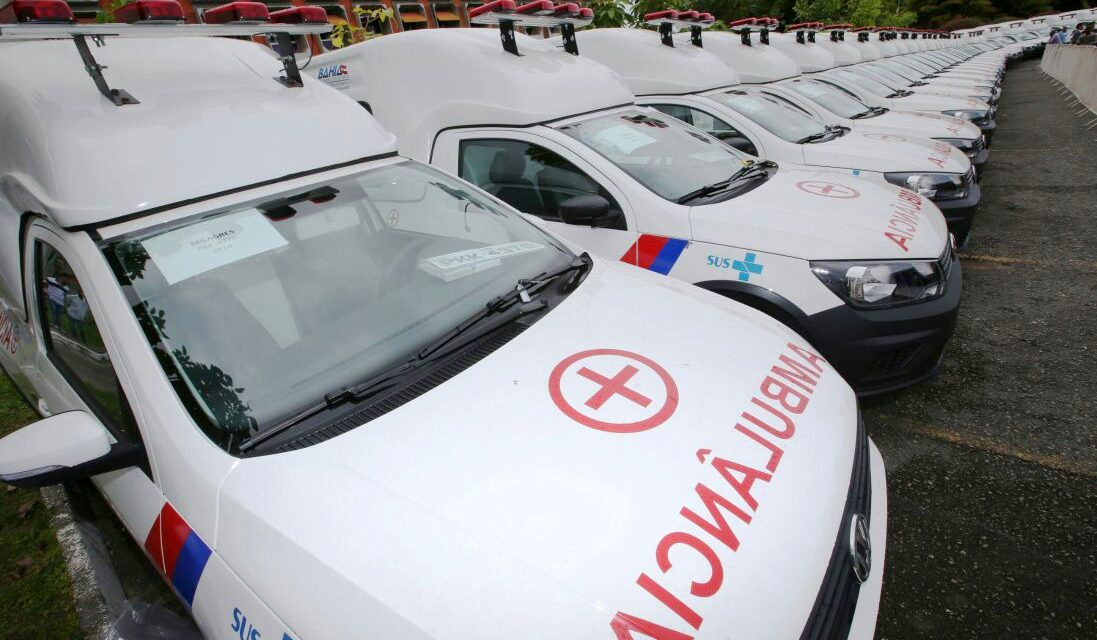 103 novos veículos reforçam assistência à saúde
