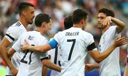 Alemanha ganha da Austrália por 3×2 na Copa das Confederações
