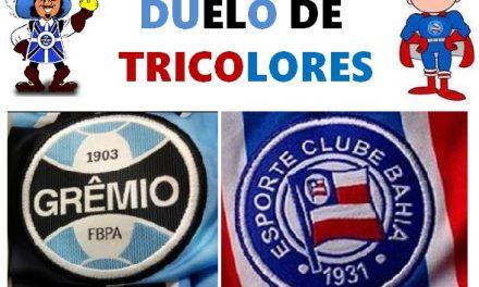 Grêmio vence 1×0. Bahia perde duas posições