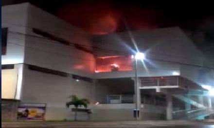 Incêndio destrói parte do Mercado de Cajazeiras