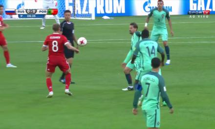 Copa das Confederações – Rússia x Portugal estão em campo