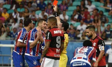 Bahia é derrotado pelo Flamengo e entra na zona de rebaixamento
