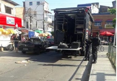 Suspeita de bomba assusta moradores da Boca do Rio