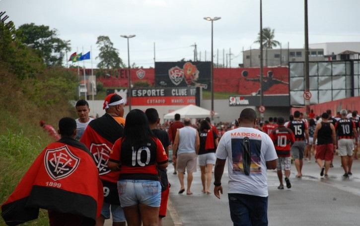 Ba-Vi de domingo, no Barradão, será com torcida única