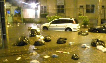 Mais de 600 toneladas de lixo foram recolhidas no Rio depois de temporal