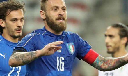 Itália passa fácil pelo Uruguai