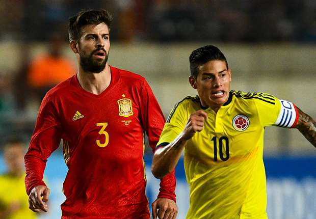 Espanha só empata, em casa, com a Colômbia