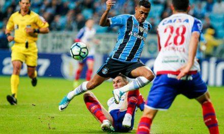 Bahia perde pro Grêmio e já pensa no Coritiba