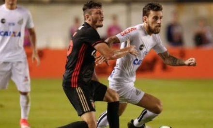 Sport vence o Santos na Vila Belmiro