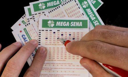 Mega-Sena acumula prêmio de R$ 6,5 milhões