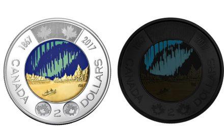 Canadá: entra em circulação a primeira moeda a brilhar no escuro