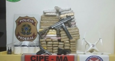 PF desmonta laboratório de drogas no Sul da Bahia