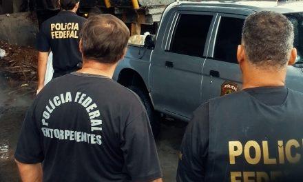 PF deflara operação de combate  ao tráfico de drogas no Sul da Bahia
