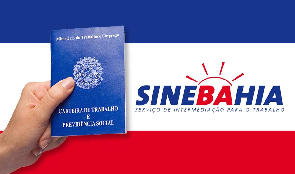 SineBahia – vagas de hoje para Salvador