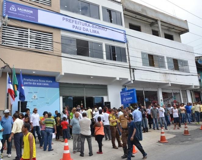 Gabinete da Prefeitura em Ação  em Pau da Lima