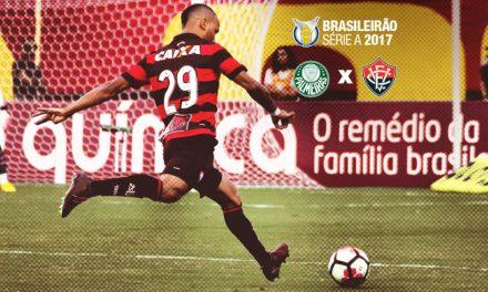 Com nova dupla de zaga, Vitória tenta reabilitação contra o Palmeiras