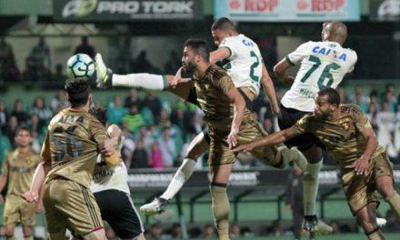 Sport ganha do Coritiba fora de casa e chega ao G-6