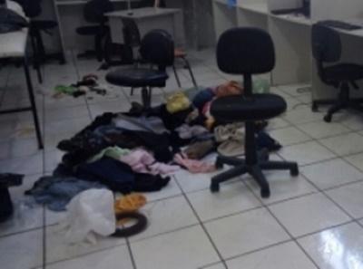Bandidos saqueiam sede da Associação Baiana de Cegos