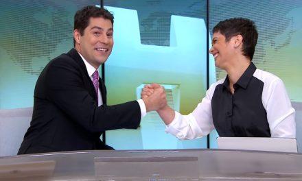 Apresentador Evaristo Costa se despede do Jornal Hoje