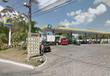 Posto de gasolina roubado em Pirajá