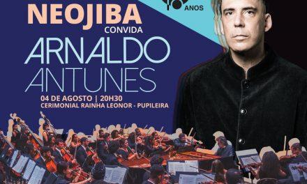 Arnaldo Antunes e Orquestra Neojiba no Cerimonial Rainha Leonor (Pupileira)