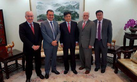 Rui se reúne com empresários chineses em Brasília