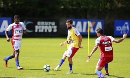 Dois jogadores do Bahia  vetados para o jogo contra a Ponte