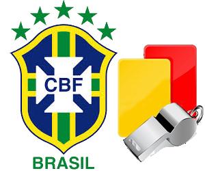 CBF escala árbitros do Paraná e do Piauí para jogos da dupla Ba-Vi amanhã