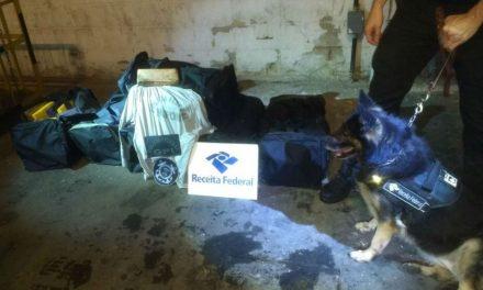 Mais de 200 quilos de cocaína foram apreendidos no Porto de Salvador