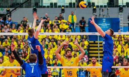 Liga Mundial de Vôlei – Brasil vence a Rússia e pega os EUA nas semifinais
