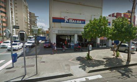 Assaltante é morto em ação na loja das Casas Bahia da Pituba