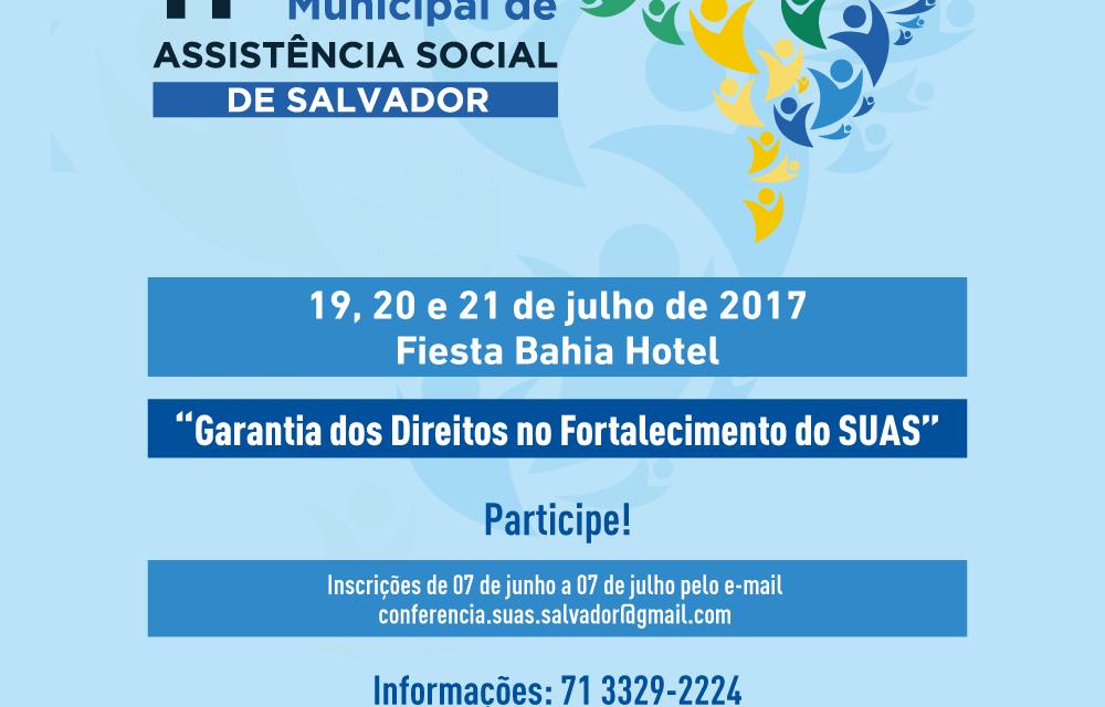 Começa hoje a Conferência Municipal de Assistência Social