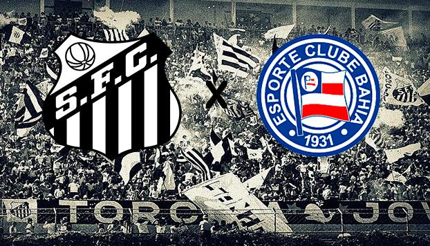CBF faz alterações no jogo  Santos x Bahia