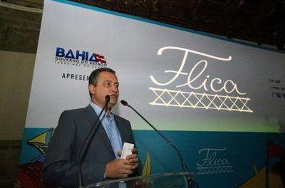 Governo da Bahia: programação diversificada e serviços na Flica