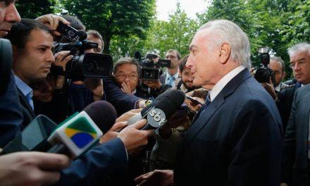 """Temer diz na Alemanha que """"não existe crise econômica no Brasil"""""""