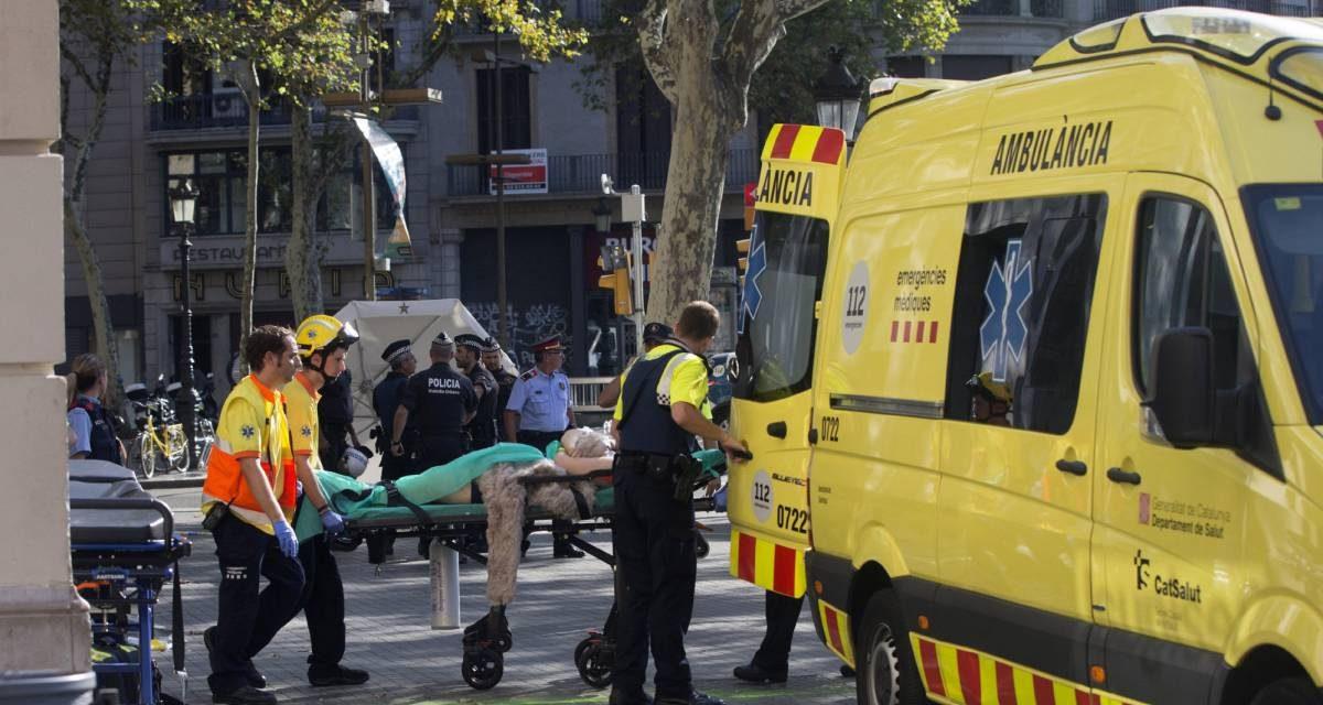 Atentado terrorista por atropelamento em Barcelona