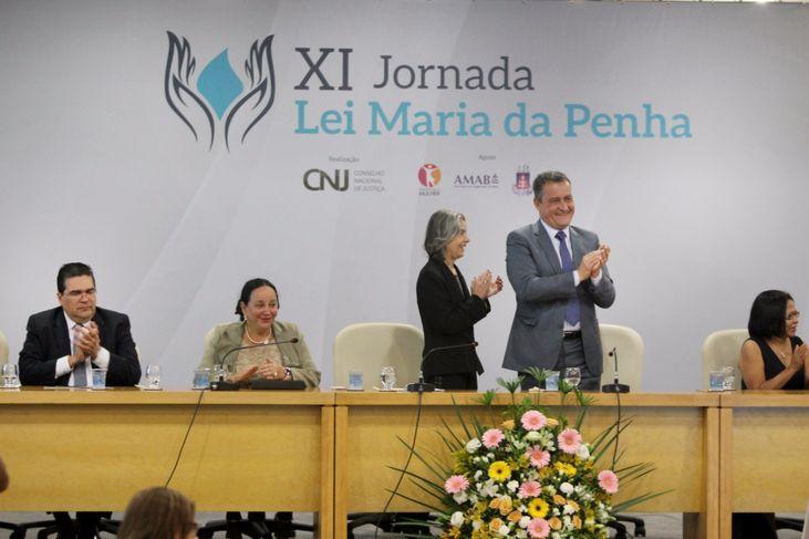 Presidente do STF, ministra Cármen Lúcia, abre jornada Maria da Penha em Salvador