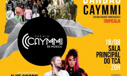 Bandão reúne coletivo de artistas no palco do Prêmio Caymmi