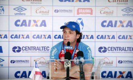 Com Preto Casagrande efetivado como técnico, o Bahia volta a treinar na próxima segunda, 04