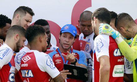 O técnico interino Preto Casagrande segue contando com apoio dos jogadores do Bahia