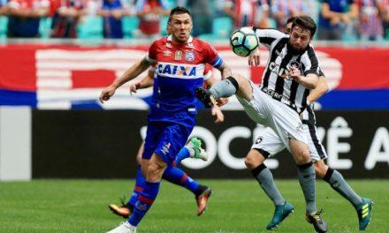 Bahia 1 x 2 Botafogo. O tricolor insiste em viver perigosamente