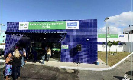Pirajá ganha obras de nova unidade de saúde municipal nesta sexta-feira (18)