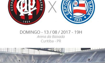 Bahia encara o Atlético-PR em jogo difícil para os dois