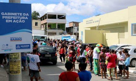 Gabinete da Prefeitura em Ação atende mais de 3 mil cidadãos em Alto