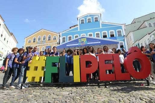 Centro histórico e Flipelô: tudo a ver