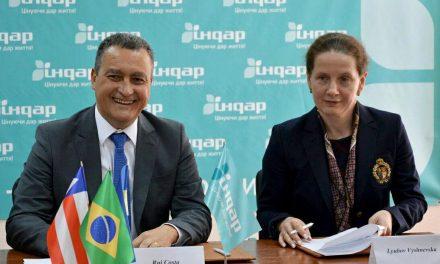 Na Ucrânia, Rui assina acordo para construção de fábrica de insulina na Bahia