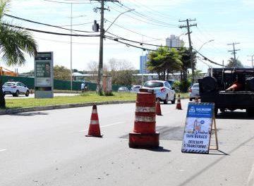 240 toneladas de asfalto, em média, são aplicadas por dia nas ruas de Salvador