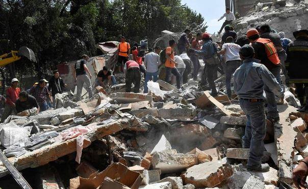 Já passa de 210 o número de mortes causadas por terremoto no México